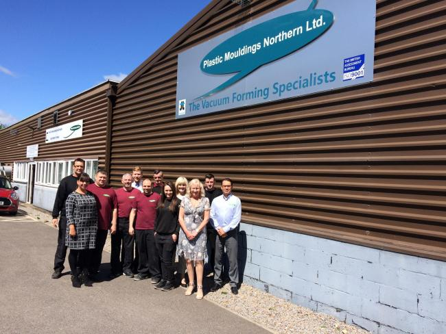 pmn-team-june-2017 PMN £1 Million Expansion - Plastic Mouldings Northern