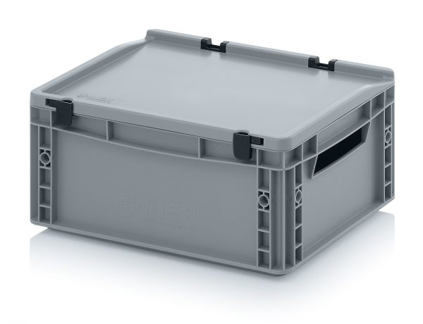eh4170 Euro Stacking - Hinged Lid - Plastic Mouldings Northern