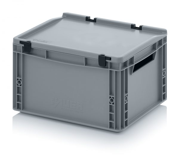 eh4220-600x528 Euro Stacking - Hinged Lid - Plastic Mouldings Northern