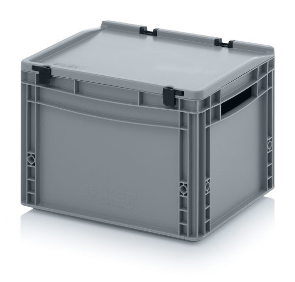 eh4270 Euro Stacking - Hinged Lid - Plastic Mouldings Northern