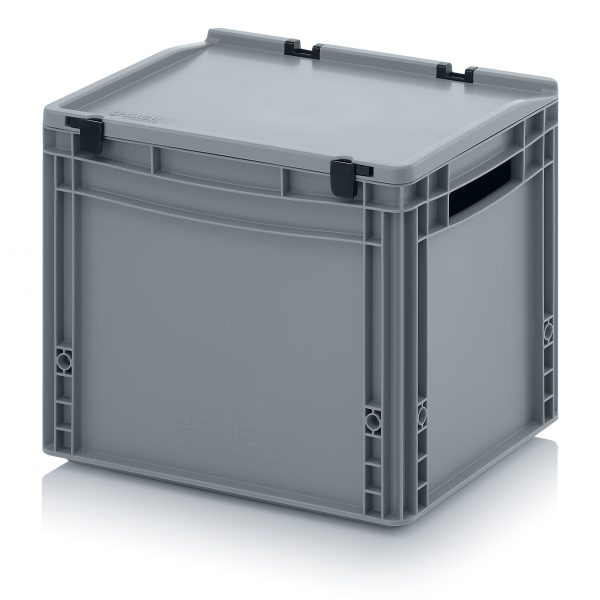 eh4320-600x600 Euro Stacking - Hinged Lid - Plastic Mouldings Northern