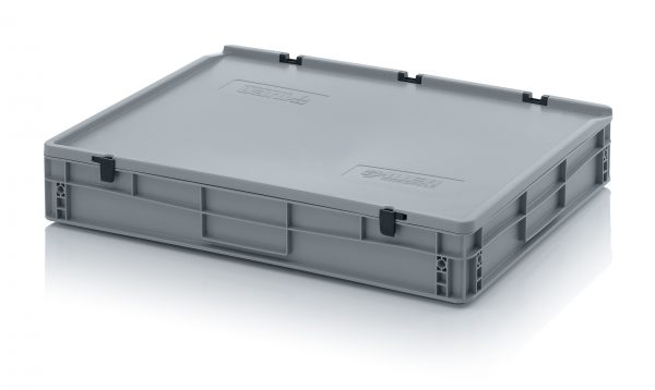 eh8120c-600x358 Euro Stacking - Hinged Lid - Plastic Mouldings Northern