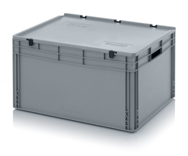 eh8420-600x499 Euro Stacking - Hinged Lid - Plastic Mouldings Northern