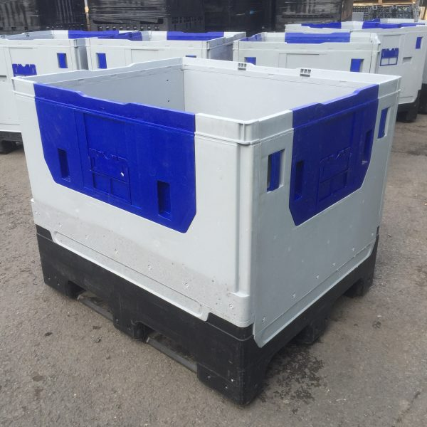 KF975-600x600 Pallet Box - Folding - Plastic Mouldings Northern