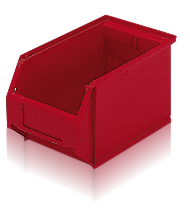 71013-red Small Part Storage - Plastic Mouldings Northern