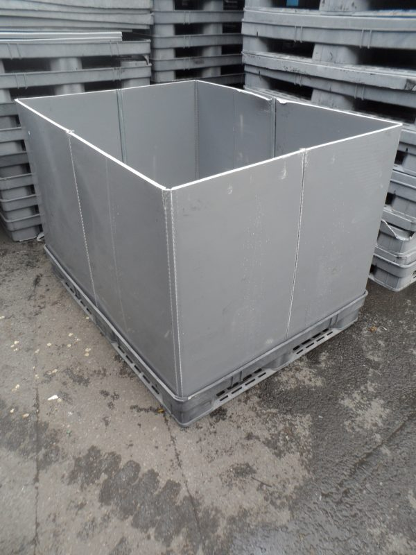 Collarpack-HD-container-1450x1125x900_5 Reconditioned Bulk Containers - Plastic Mouldings Northern