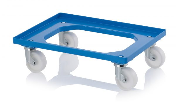 DL6040P_Blue-600x373 600 x 400 Dolly <br/>(Plastic wheels) <br/>DL6040P - Plastic Mouldings Northern