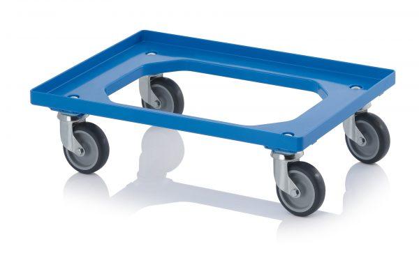 DL6040R_Blue-600x373 600 x 400 Dolly <br/>(Rubber wheels) <br/>DL6040R - Plastic Mouldings Northern