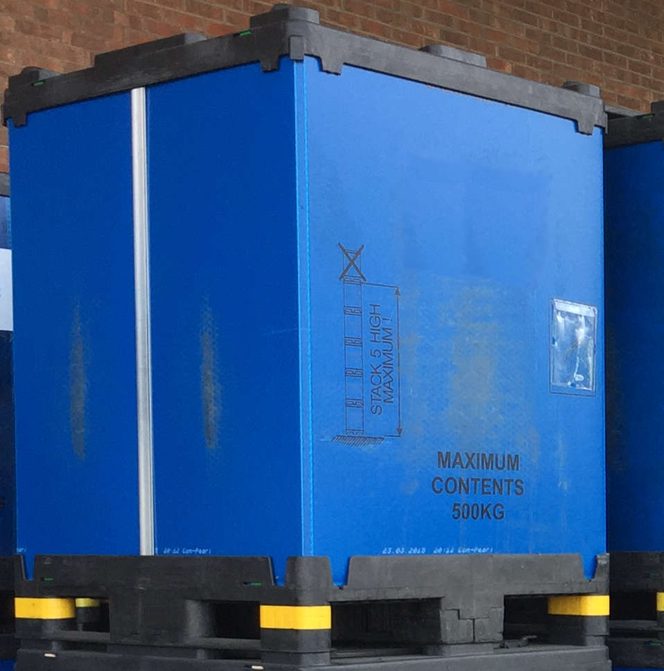 Tall-Sleevepack-1200x1000x1500 Reconditioned Bulk Containers - Plastic Mouldings Northern
