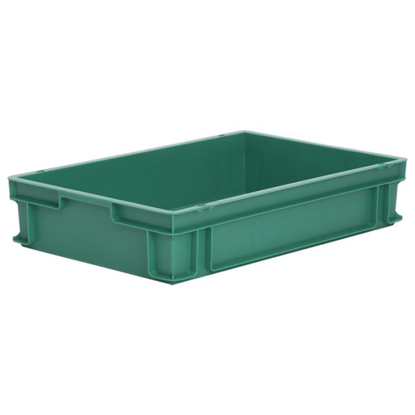 m200agreen1 Euro Stacking - Coloured - Plastic Mouldings Northern