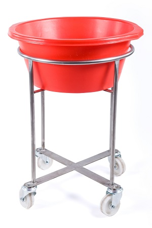 rm24st-stand-and-bowl Inter Stacking Bins - Plastic Mouldings Northern