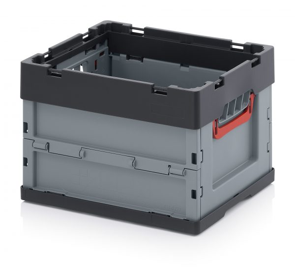 FEU4270-600x551 Folding Euro Containers - Plastic Mouldings Northern