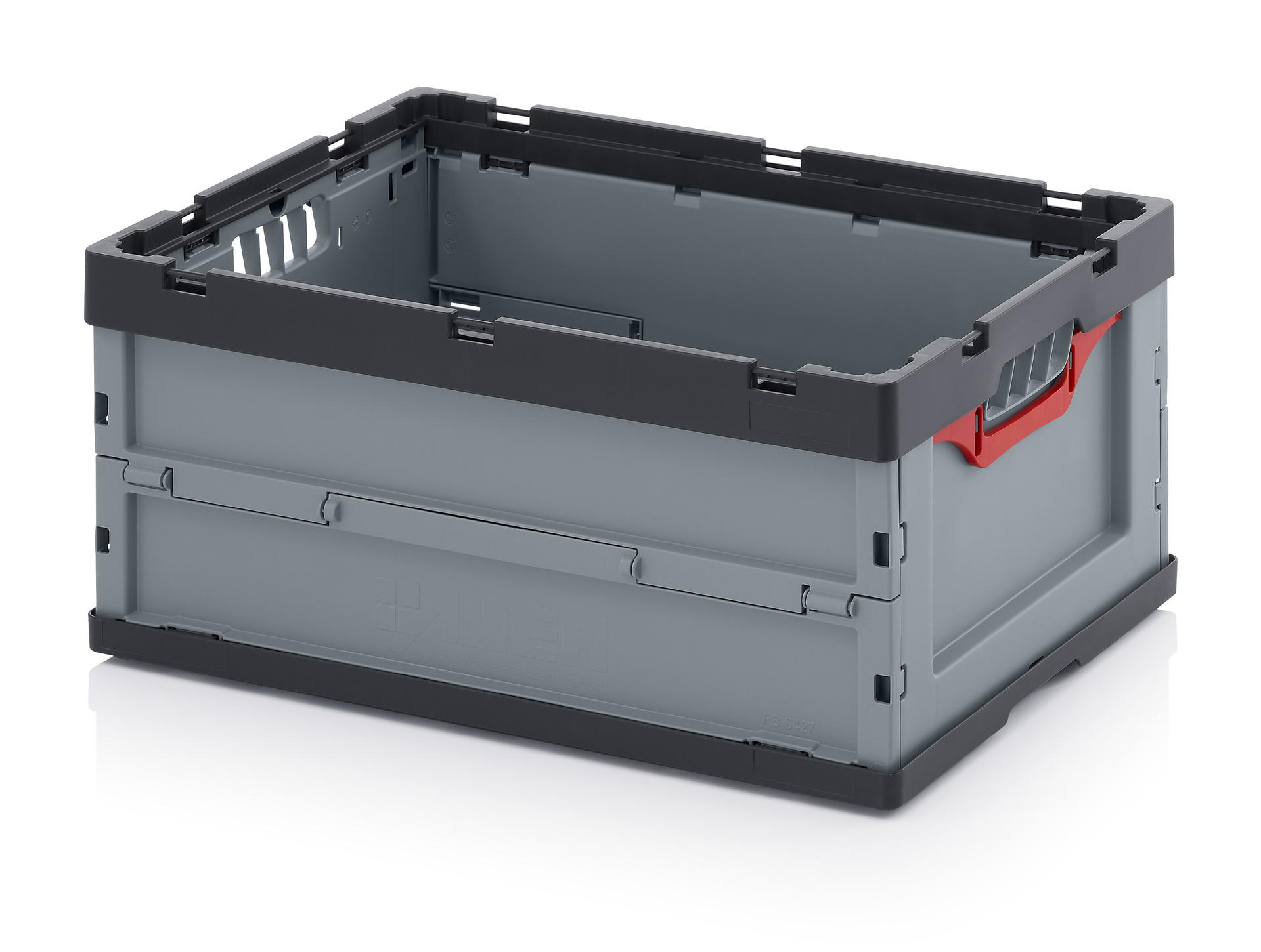 FEU6270 Folding Euro Containers - Plastic Mouldings Northern