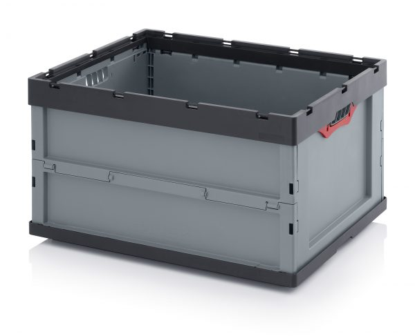 FEU8445-600x487 Folding Euro Containers - Plastic Mouldings Northern