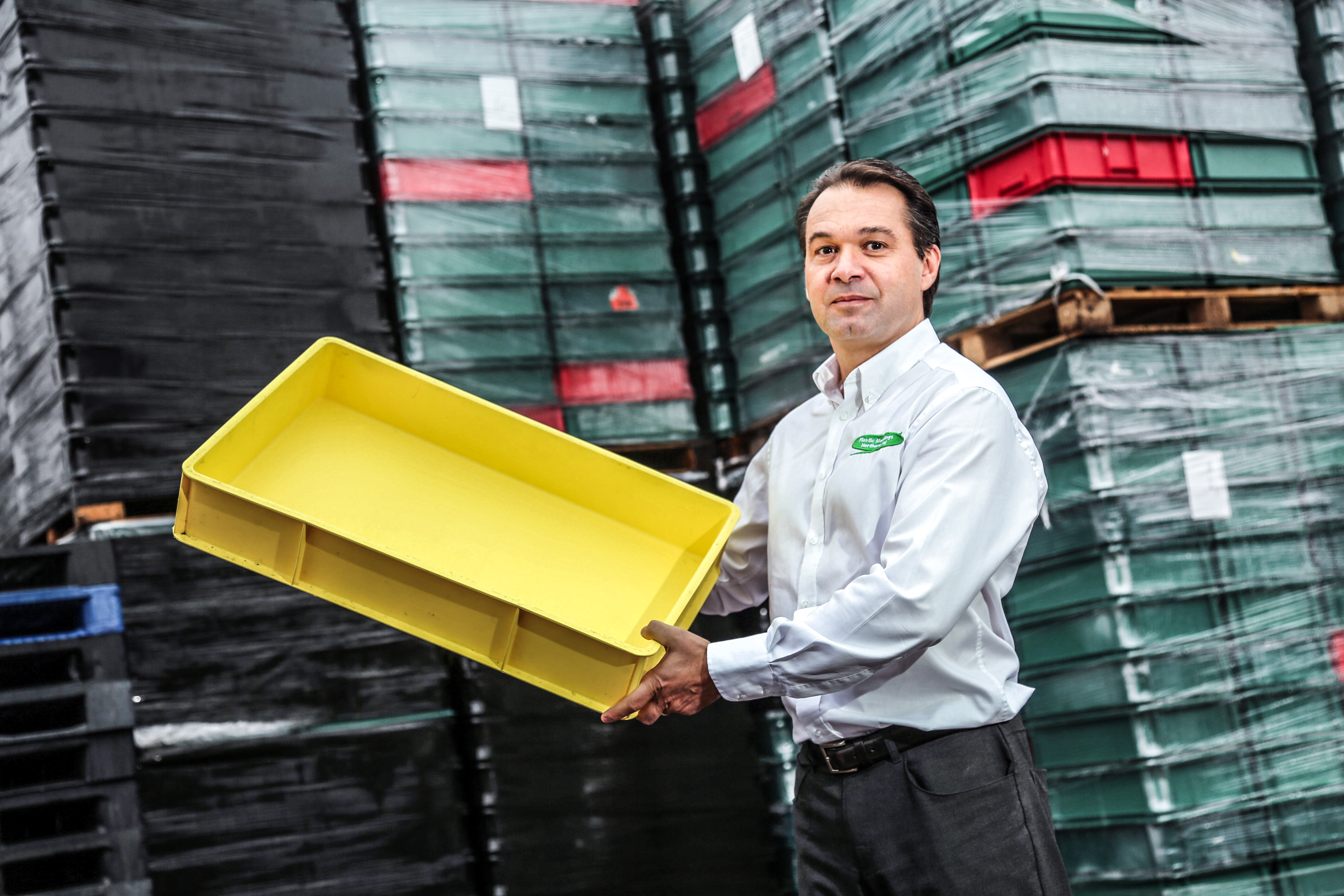 Plastic-Mouldings-Northern-director-Freddy-Bourdais Plastics firm is boxing clever as pallets business picks up - Plastic Mouldings Northern