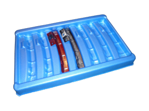 foam-tray-blue-300x225 Vacuum Forming Packaging - Plastic Mouldings Northern