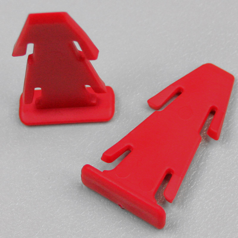 Polywedge-red Reusable Containers - Plastic Mouldings Northern