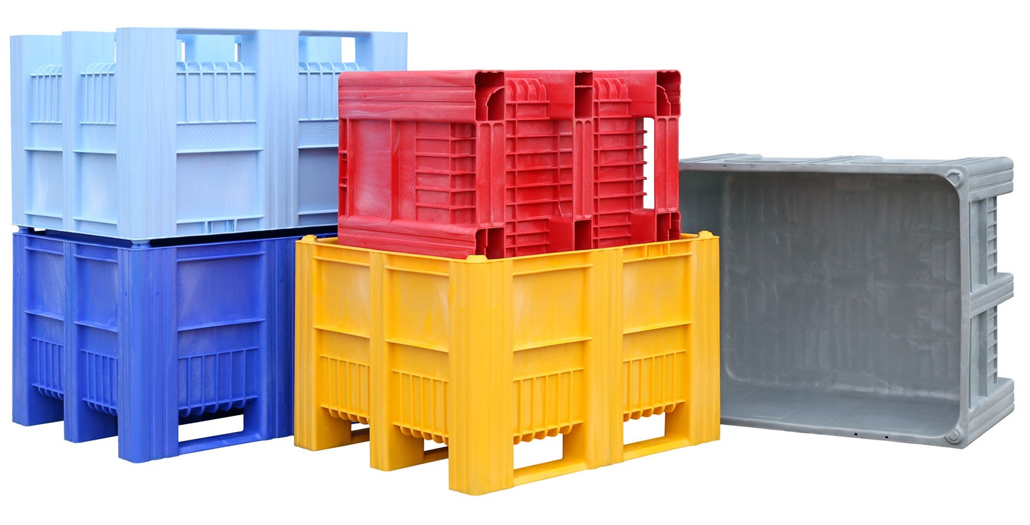 CB3 Pallet Box - Solid - Plastic Mouldings Northern