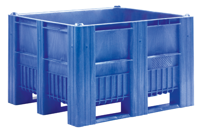 CB3_Blue1 Pallet Box - Solid - Plastic Mouldings Northern