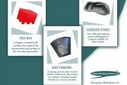 Fish Bins, Hay Feeders, Garden Ponds from Plastic Mouldings Northern Ltd